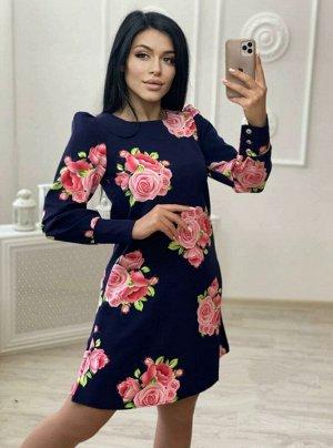 Платье Ткань Барби. Длина платья 90см
