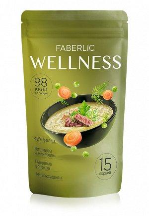 Сухой белковый суп Wellness со вкусом «Гороховый с копченостями»