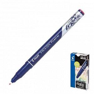 """Ручка """"пиши-стирай"""" капиллярная Pilot Frixion Fineliner, 0.45мм, чернила красные"""