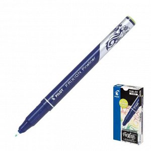 """Ручка """"пиши-стирай"""" капиллярная Pilot Frixion Fineliner, 0.45мм, чернила светло-зеленые"""
