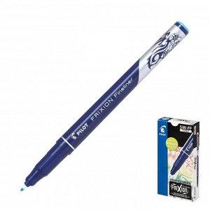 """Ручка """"пиши-стирай"""" капиллярная Pilot Frixion Fineliner, 0.45мм, чернила голубые"""