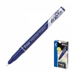 """Ручка """"пиши-стирай"""" капиллярная Pilot Frixion Fineliner, 0.45мм, чернила розовые"""