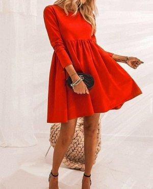 Платье Ткань Плотный трикотаж