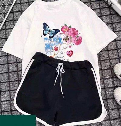 Экспресс💥Легкая Женственность -Мокасины - 299 руб - 3 ☑ — Костюмчимки с шортами — Одежда