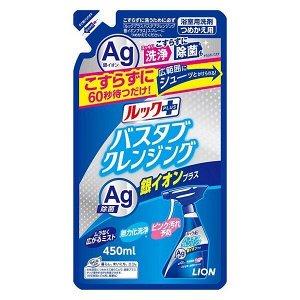 """Чистящее средство для ванной комнаты """"Look Plus"""" быстрого действия (аромат трав и мяты + ионы серебра) мягкая упаковка 450 мл / 20"""