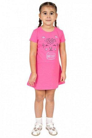 Платье для девочки Л2455-5824, гиацинт