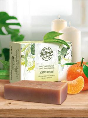 """Мыло натуральное парфюмированное с ароматом """"Manhattan"""""""