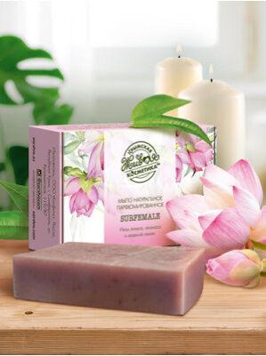 """Мыло натуральное парфюмированное с ароматом """"Surfemale"""""""