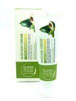 Питательный крем для лица с экстрактом авокадо Farm Stay Avocado Cream Super Food 60гр