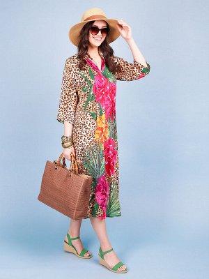 Платье 100% вискоза, FABRETTI, FRT2021001-5