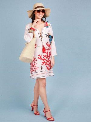 Платье 100% хлопок, FABRETTI, FRT2021021-1