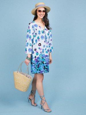 Платье 100% хлопок, FABRETTI, FRT2021020-9