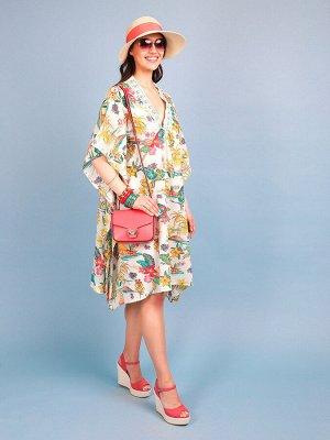Платье 100% хлопок, FABRETTI, FCH20714-1