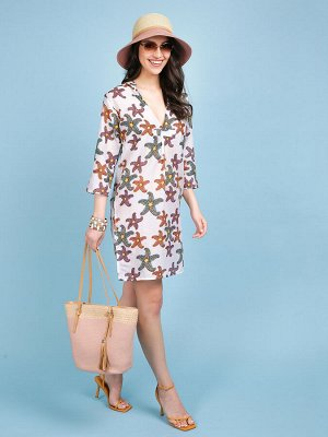 Платье 100% хлопок, FABRETTI, FRT2021018-1