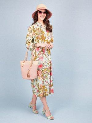 Платье 100% вискоза, FABRETTI, FRT2021004-150