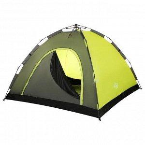 Палатка-автомат туристическая SWIFT 4, размер 255 х 255 х 150 см, 4-местная