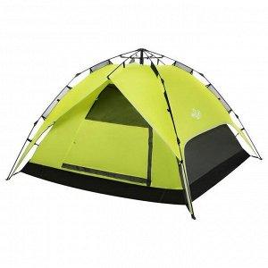 Палатка-автомат туристическая SWIFT 3, размер 200 х 200 х 126 см, 3-местная
