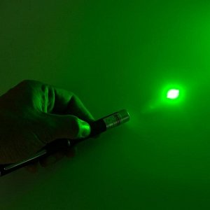 Лазерная указка 532 нм, дальность 1000 м, 2 ААА, зелёный луч