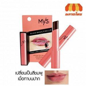 MYS Black magic pink lip