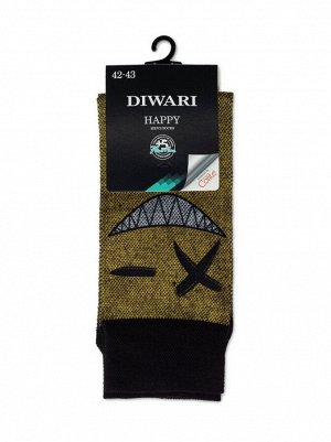 DiWaRi Happy Носки мужские