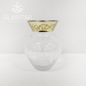 """Ваза Glasstar Флора """"Вдохновение"""" / 155 мм"""