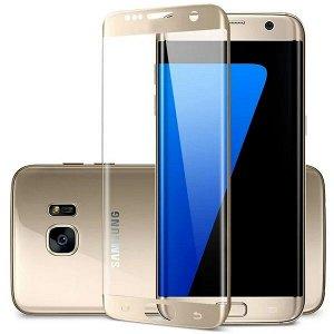 Защитное стекло 3D Metallic для Samsung