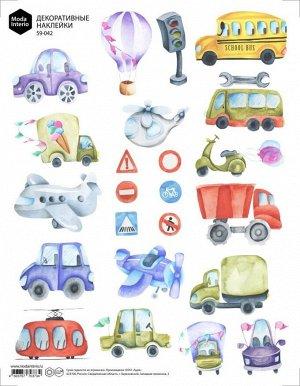 Декоротивные наклейки 59-042