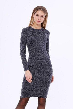 Платье (Цвет: темно синий) 921-0295