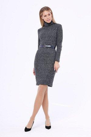 Платье (Цвет: темно синий) 914-0255