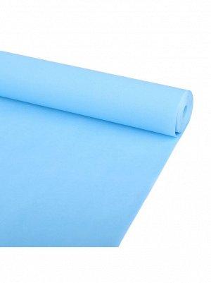 Пергамент флористический 58 гр/м2 50  х 20 м цвет Небесно - синий