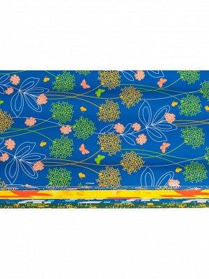 Бумага люкс 200-105 Цветы тропические 100 х 70 см