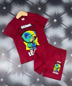 Костюм футболка с шортами