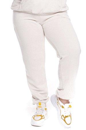 Брюки-5131 Модель брюк: Спортивные; Материал: Трикотаж;   Фасон: Брюки; Параметры модели: Рост 168 см, Размер 54 Брюки спортивные трикотажные белые (двухнитка) высокий рост Универсальные и невероятно