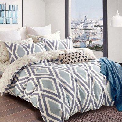 ALLERI - В спальню со вкусом ! 💖Premium Сатин — Постельное белье, поплин — Двуспальные и евро комплекты