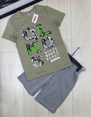 Комплект футболка с шортами