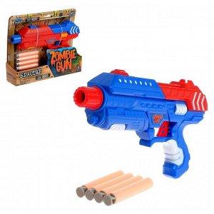 Бластер Zombie gun G-SHOT, МИКС