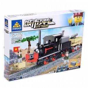 Конструктор «Городской поезд», работает от батареек, 379 деталей