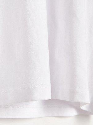 Водолазка из ткани с добавлением хлопка
