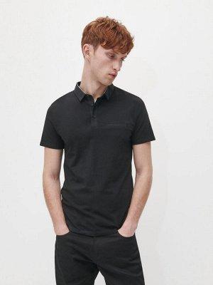 Гладкая рубашка поло slim fit