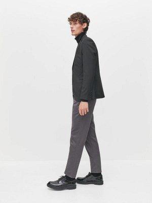 Хлопковые брюки с ремнем