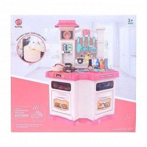 Уценка (Помята упаковка) Игровой набор «Настоящий повар», с аксессуарами, свет, звук, бежит вода из крана