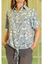 Блузка тканая