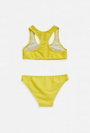 Купальный костюм детский для девочек Escape ярко желтый