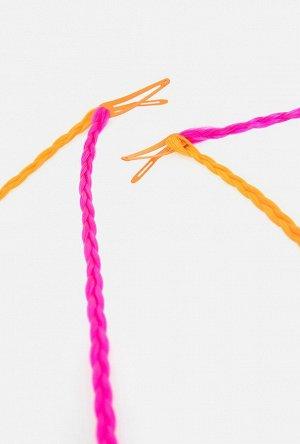Набор из 2 заколок для волос дет. Kimaya разноцветный
