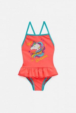 Купальник детский для девочек Rarity цветной