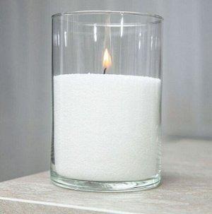 Воск для насыпных свечей цвет снежок 500 г