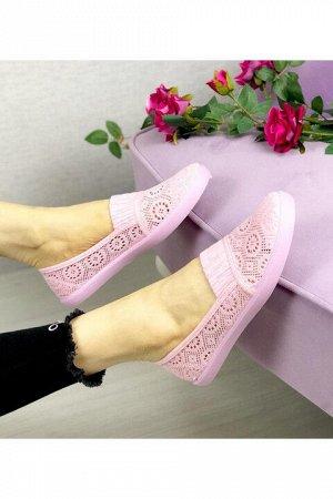 Женские тапочки 4021-6 розовые