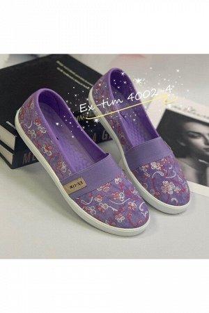 Женские тапочки 4002-4 фиолетовые