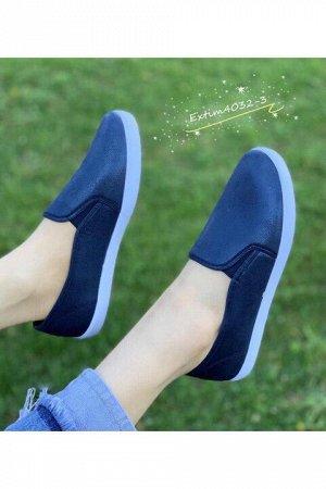 Женские тапочки 4032-3 синие