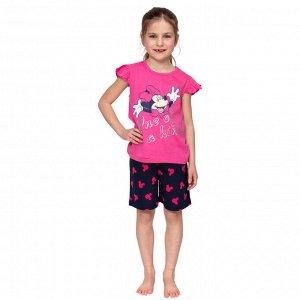 Комплект для девочки Disney футболка + шорты